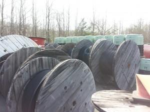 Surplus Fiber Reels for Sale